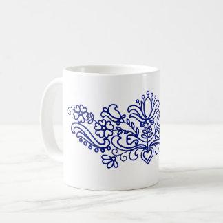 Floral motifs from Hungary (Kalotaszeg) Coffee Mug