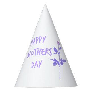 Floral Mum Party Hat