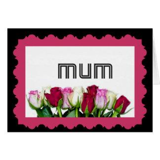 Floral Mum Stamp Cards