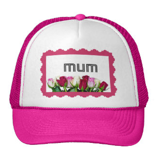 Floral Mum Stamp Hats