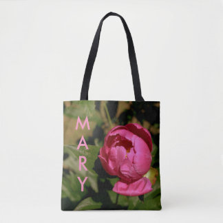 Floral Name Tote  for Mary