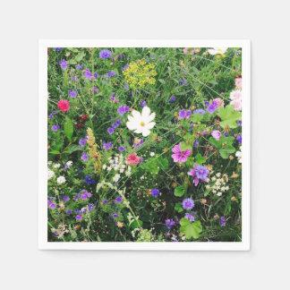 Floral Napkins Disposable Napkins