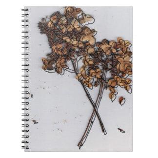 Floral Newspaper Notebooks