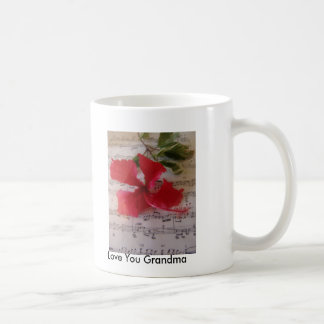 Floral Notes Coffee Mugs