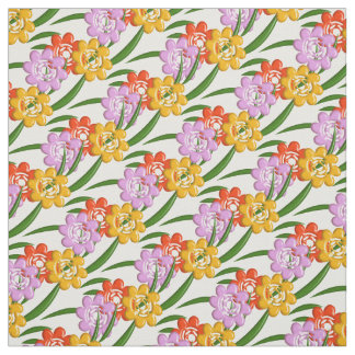 Nursery fabric for upholstery quilting crafts zazzle for Floral nursery fabric