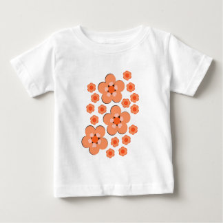 Floral Orange Products T Shirt