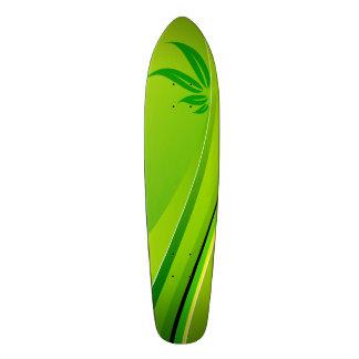 Floral Ornaments Motive Custom Skate Board