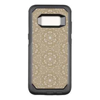 Floral ornate background OtterBox commuter samsung galaxy s8 case