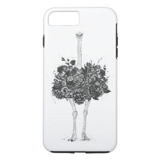 Floral ostrich iPhone 8 plus/7 plus case