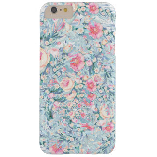 Floral Paint pattern Barely There iPhone 6 Plus Case