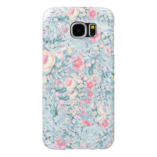 Floral Paint pattern Samsung Galaxy S6 Cases