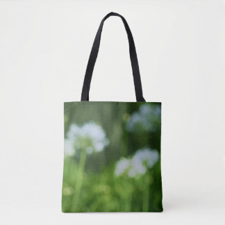 Floral Painting Tote Bag