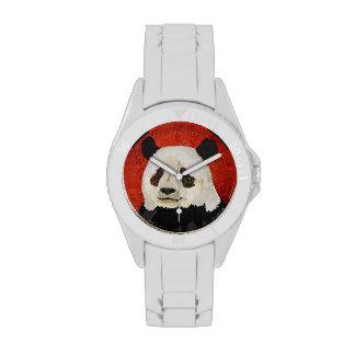 Floral Panda Watch