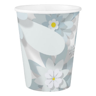 Floral Paper Cup
