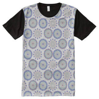 Floral Pastel All-Over Print T-Shirt