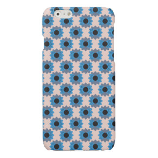 Floral Pastel Blue Flowers - iPhone Case - 6/6s