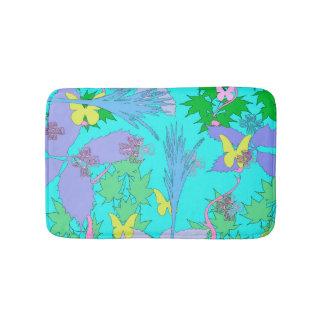 Floral Patter Bath Mat
