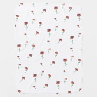 Floral Pattern Baby Blanket