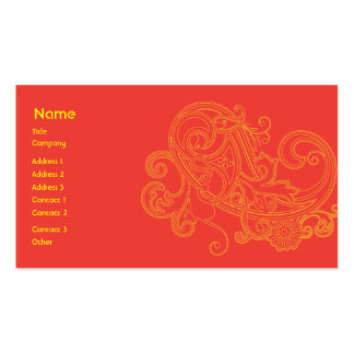 Floral Pattern - Business Business Cards