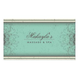 Floral Pattern Damask Elegant Modern Classy Retro Pack Of Standard Business Cards
