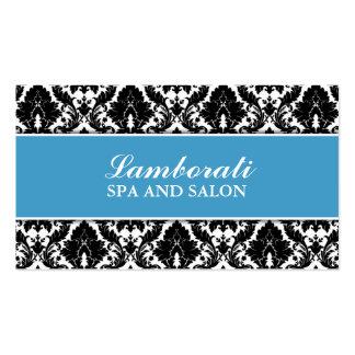Floral Pattern Damask Elegant Modern Stylist Salon Pack Of Standard Business Cards