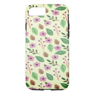 FLORAL PATTERN DESIGN iPhone 8/7 CASE