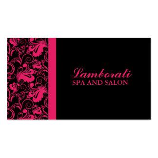 Floral Pattern Elegant Hairdresser Stylist Salon Pack Of Standard Business Cards