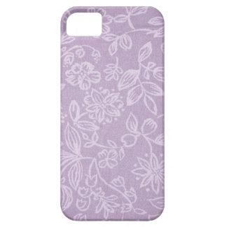 Floral pattern flowers abstract pink girl blue abs iPhone 5 case