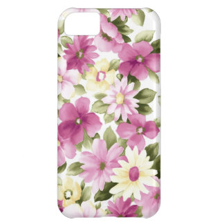 Floral pattern flowers abstract pink girl iPhone 5C covers