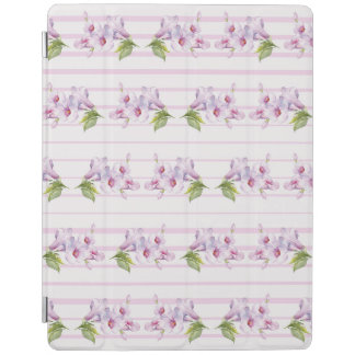 Floral pattern iPad cover