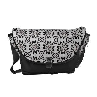 Floral pattern Messenger  Bag Courier Bag