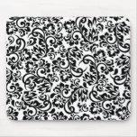 floral pattern mouse mat