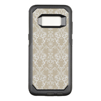 Floral Pattern OtterBox Commuter Samsung Galaxy S8 Case