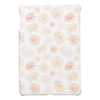 Floral Pattern Succulent Garden Botanical Print iPad Mini Cases