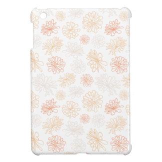 Floral Pattern Succulent Garden Botanical Print iPad Mini Cover