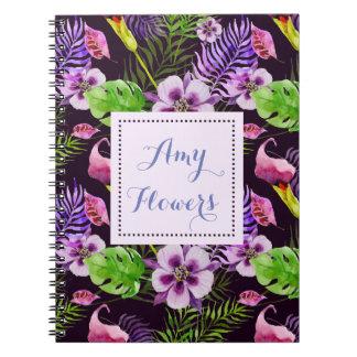 Floral  Pattern Variety Notebooks
