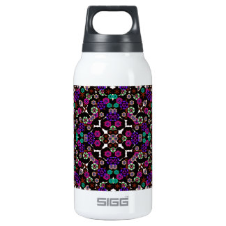 floral pattern violet 0.3L insulated SIGG thermos water bottle