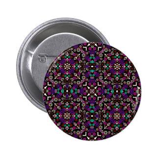 floral pattern violet pins
