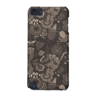 Floral pattern with cartoon birds 2 iPod touch (5th generation) cases