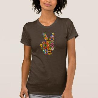 Floral Peace Sign Shirt