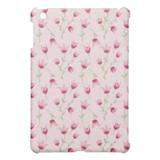 - Floral Pern Spring Pink Tulips iPad Mini Case