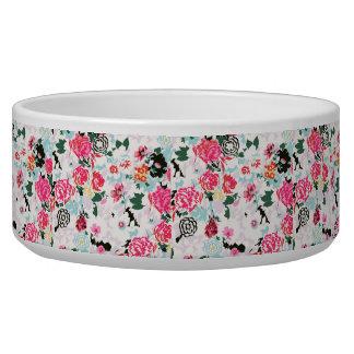 Floral Pet Bowl (Large)