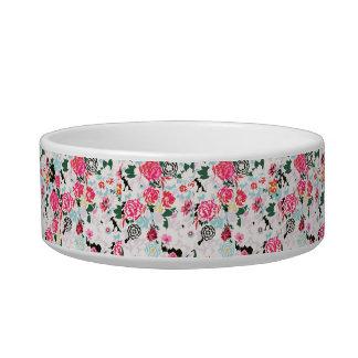 Floral Pet Bowl (Medium)