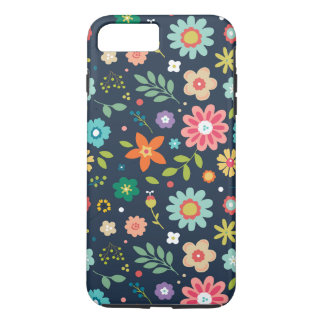 Floral Phone Case iPhone 8 Plus Protective Case