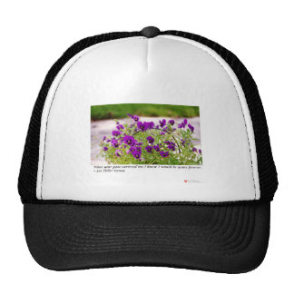 Floral Photography (Pansies) Gifts & Collectibles Cap