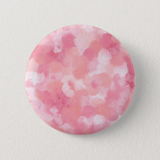 Floral - Pink 6 Cm Round Badge
