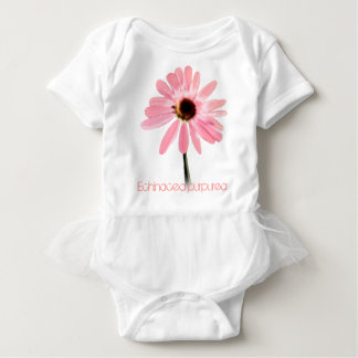 Floral Pink Baby Tutu Tee Shirts