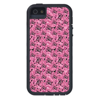 Floral Pink Collage Pattern Cover For iPhone 5