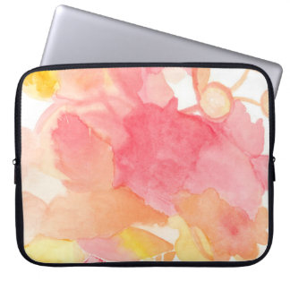 Floral Pink Computer Case Computer Sleeves