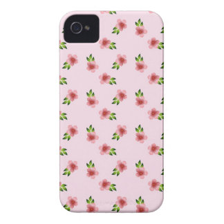 Floral Pink iPhone 4 Cases